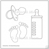 Baby Set Digital Stamp