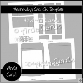 6x6 Neverending Card CU Template