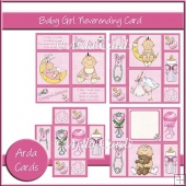 Baby Girl Neverending Card
