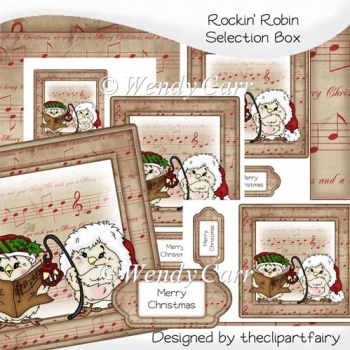 Rockin' Robins Selection Box Cards(Retiring in August)