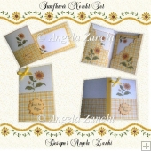 SUNFLOWER NOTELET SET