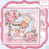 BAKING LADY 7.8 Decoupage & Insert Kit