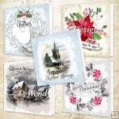 5 QUICK CHRISTMAS CARDS