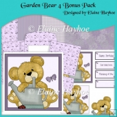 Garden Bear 4 Bonus Pack Decoupage