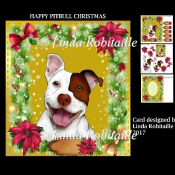 Happy Pitbull Chritmas