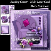 Reading Corner - Multi-Layered Card