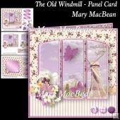 The Old Windmill - Panel Card