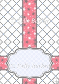 Happy Birthday Nail Polish Quick Card Insert A5 In Red White And