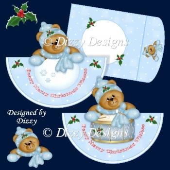 Christmas Bears Rocker Cards