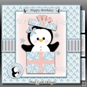 Penguin Birthday Mini Kit