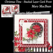 Christmas Time - Stacked Layer Card Front