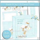Bundle Of Joy 2 3D Framed Picture