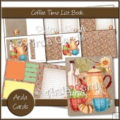Coffee Time List Book