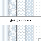 Soft Blue Papers