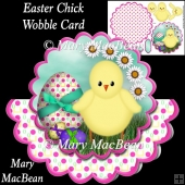 Easter Chick Wobble Card