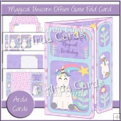 Magical Birthday Offset Gate Fold Card