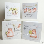 CHRISTMAS MOUSE QUICKIE CARDS