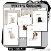 Dog Notelet Set