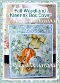 Fall Woodland Kleenex Tissue Box Cover