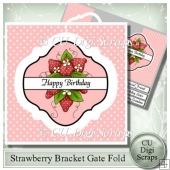 Strawberry Interlocking Bracket Gatefold