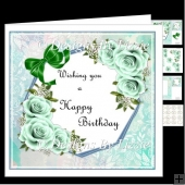 Birthday Flowers_Mint Mini Kit