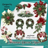 Christmas Decor Clipart