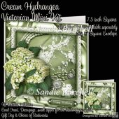 Cream Hydrangea Victorian Mini Kit