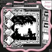 PICNIC SILHOUETTE 7.5 Quick Layers Card & Insert Kit