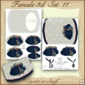Female 3d Set 11