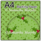 ref1_bp354 - Green Christmas Holly