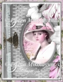 Charming Portrait Collage for A4 Card Fronts, Crafts, Journals