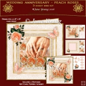 Anniversdary - Peach Roses