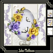 Tales of Summer 8x8 Decoupage Mini Kit