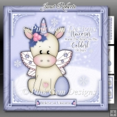 Unicorns Warm The Heart Lilac Mini Kit