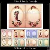 Floral Boots Insert Kit