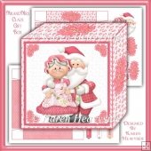 Mr and Mrs Claus Gift Box