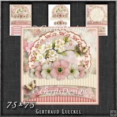 Vintage Pastel Shabby Chic Card Kit 1196