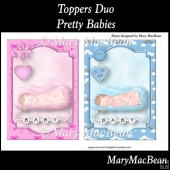 Toppers Duo - Pretty Babies