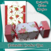 Poinsettia Cracker Box