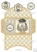 Graduation Owl Money Wallet