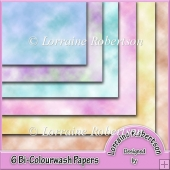 6 Bi-Colourwash Papers