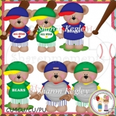 Baseball Bears Designer Resource Graphic