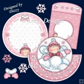 Snow Pixie Rocker Card #1