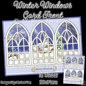 Winter Windows Card Front