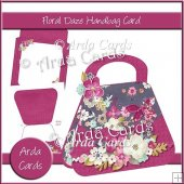 Floral Daze Handbag Card