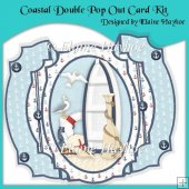 Coastal Double Pop Out Card