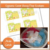 Eggtastic Easter Bunny Poop Envelopes