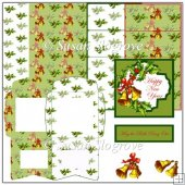 Christmas Bells Happy New Year Easel Card