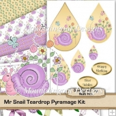 Mr Snail Teardrop Pyramage Kit.