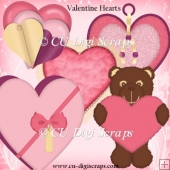 Simply Valentine Hearts